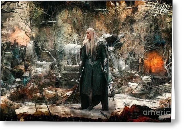 Elf King Thranduil  Greeting Card