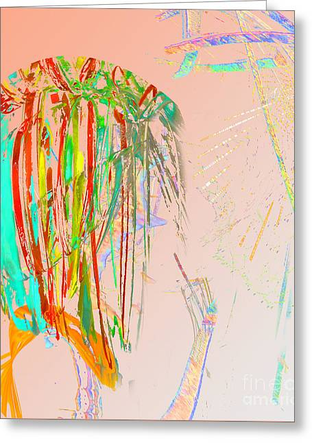 Elfin Aspiring To Be Human Greeting Card by Dorothy Pugh