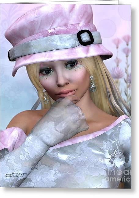 Elfin Beauty Greeting Card