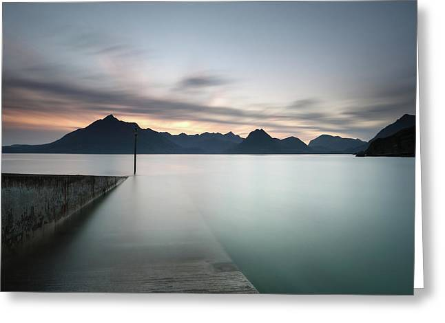 Elgol At Sunset Greeting Card