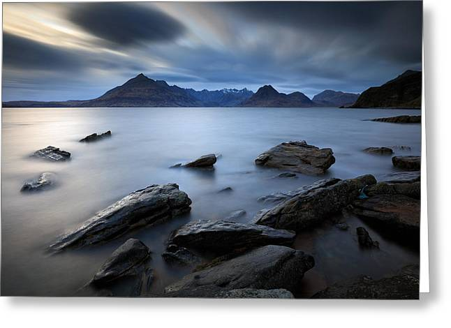 Elgol Rocky Shore Greeting Card