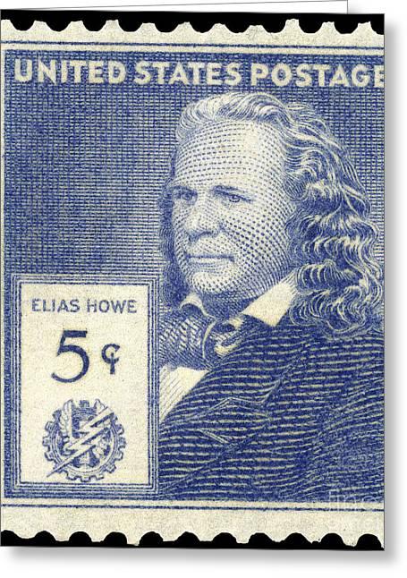 Elias Howe (1819-1867) Greeting Card by Granger