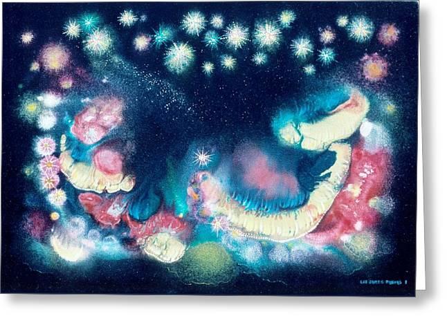 Elijah's Dream II Greeting Card by Lee Pantas