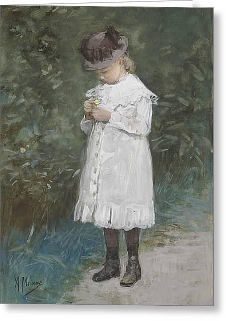 Elisabeth Mauve Greeting Card
