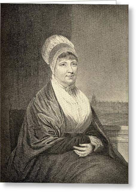 Elizabeth Fry, 1780-1845. English Greeting Card by Vintage Design Pics