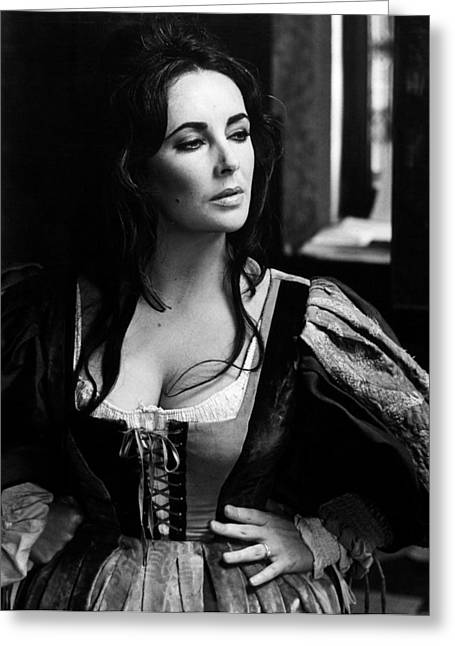 Elizabeth Taylor In The Taming Of The Shrew Greeting Card