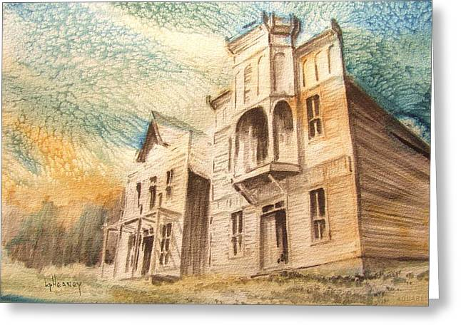 Elkhorn Ghost Town Montana Greeting Card by Kevin Heaney