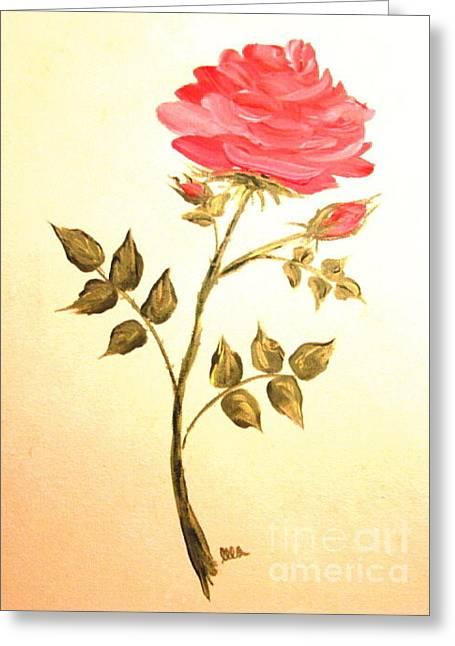Ella's Rose Greeting Card