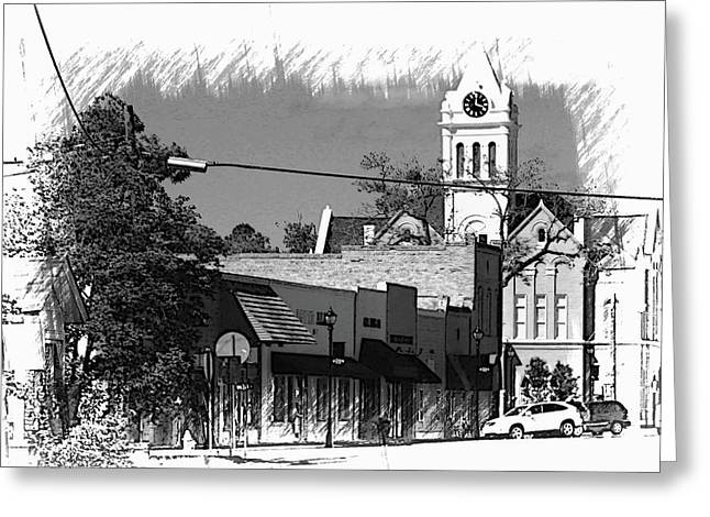 Greeting Card featuring the photograph Ellaville, Ga - 3 by Jerry Battle