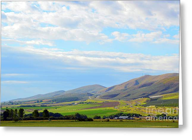 Ellensburg - Manastash Ridge Greeting Card