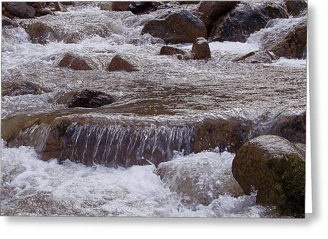 Ellenville Waterfall Greeting Card