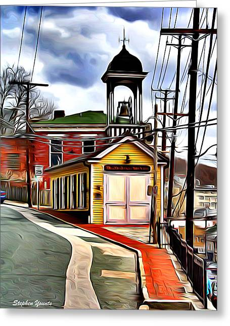 Ellicott City Fire Museum Greeting Card