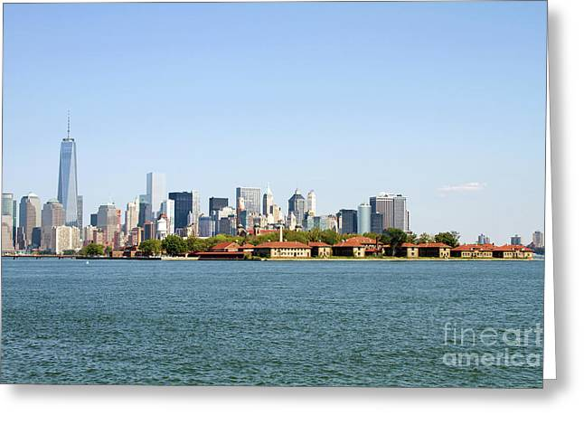 Ellis Island New York City Greeting Card