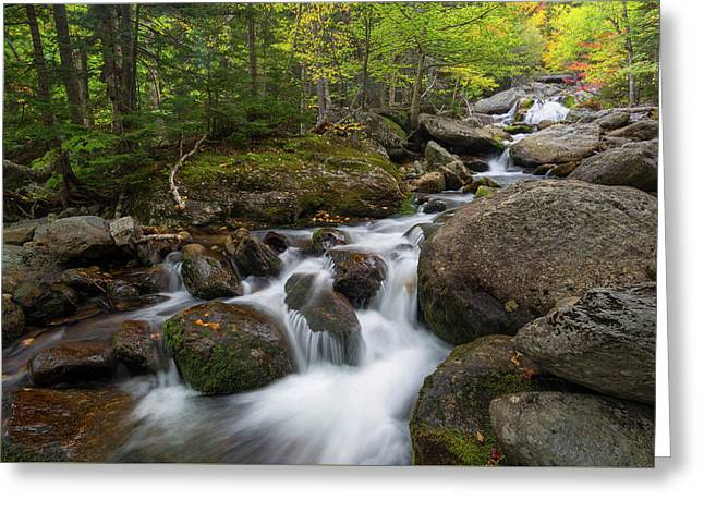 Ellis River New Hampshire Greeting Card by Bill Wakeley