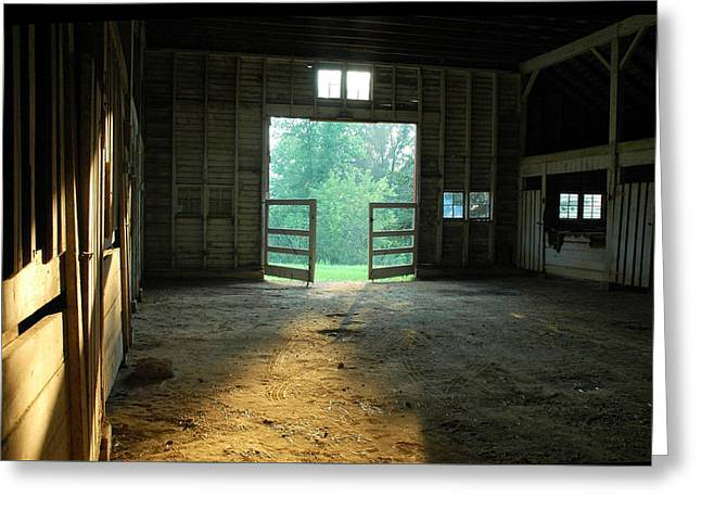 Ellwood Barn 2 Greeting Card