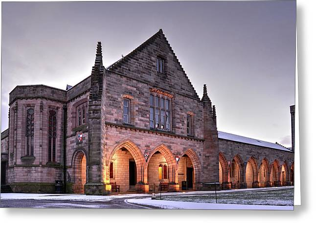 Elphinstone Hall - University Of Aberdeen Greeting Card