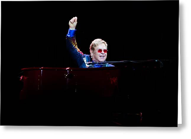 Elton Greeting Card