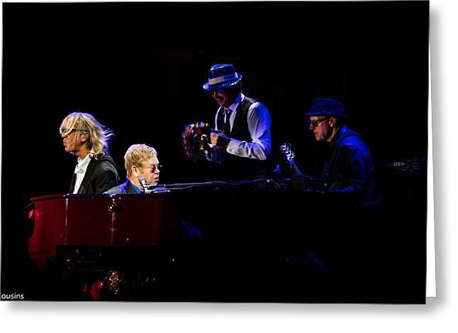 Elton - Gather Round Greeting Card