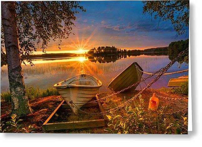 Elvin Siew Chun Wai - Nature Morning Landscape  Greeting Card by Elvin Siew Chun Wai
