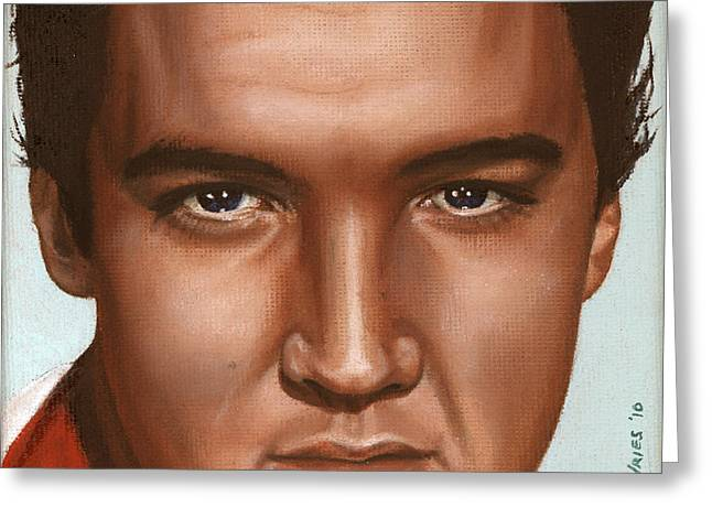 Elvis 24 1958 Greeting Card by Rob De Vries
