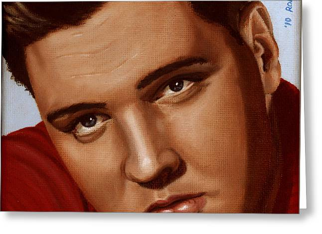 Elvis 24 1959 Greeting Card by Rob De Vries
