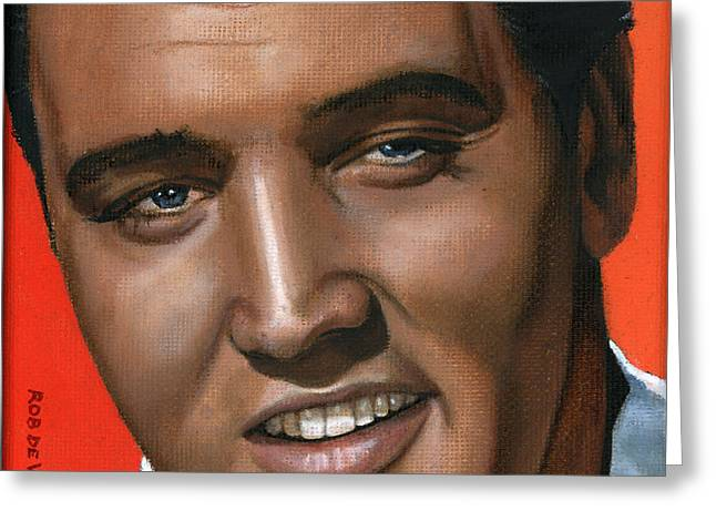 Elvis 24 1961 Greeting Card by Rob De Vries