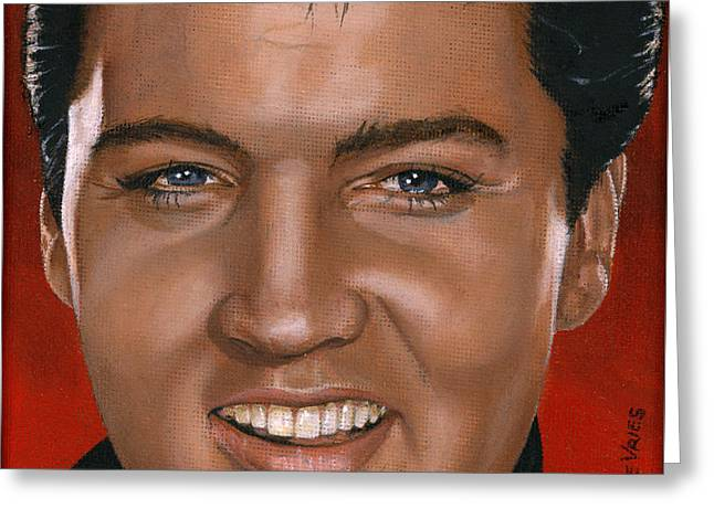 Elvis 24 1964 Greeting Card by Rob De Vries