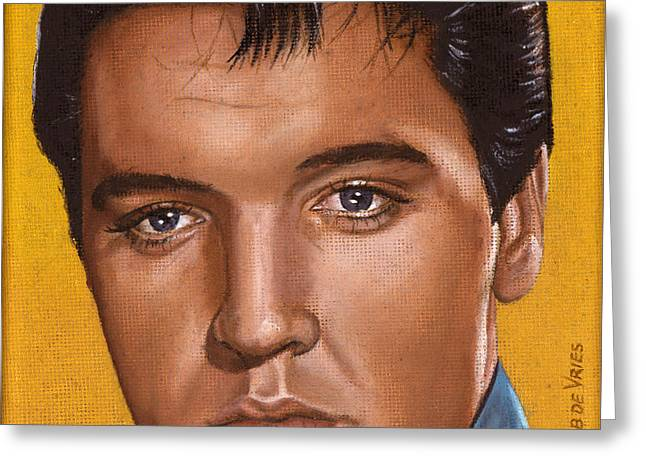 Elvis 24 1965 Greeting Card by Rob De Vries