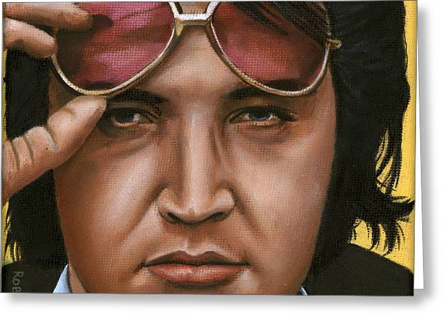 Elvis 24 1971 Greeting Card by Rob De Vries