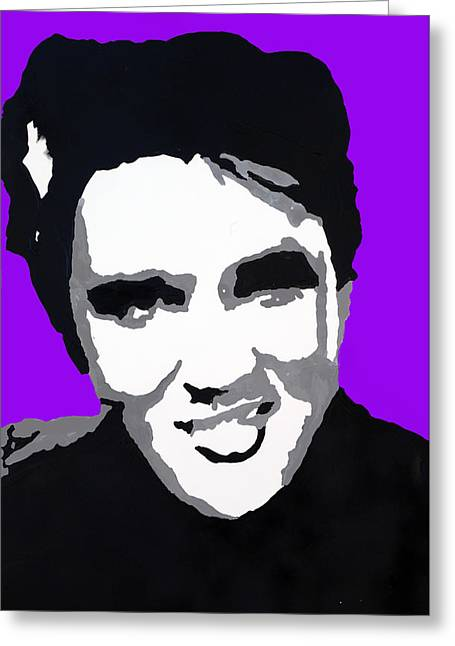 Greeting Card featuring the drawing Elvis Don't Live Here Anymore by Robert Margetts