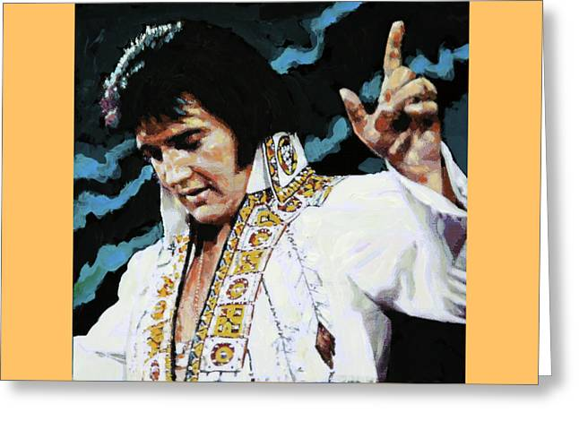 Elvis - How Great Thou Art Greeting Card