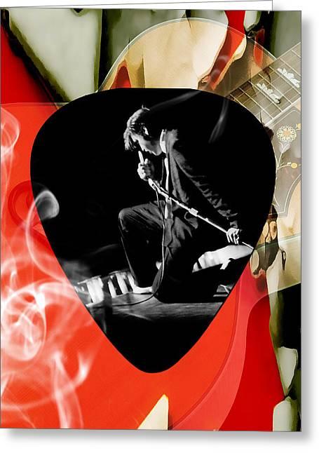 Elvis Presley Art Greeting Card