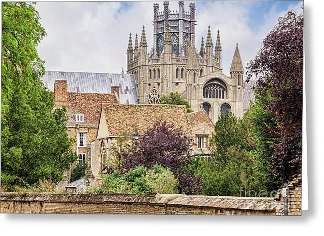 Ely Cathedral, England Greeting Card by Colin and Linda McKie