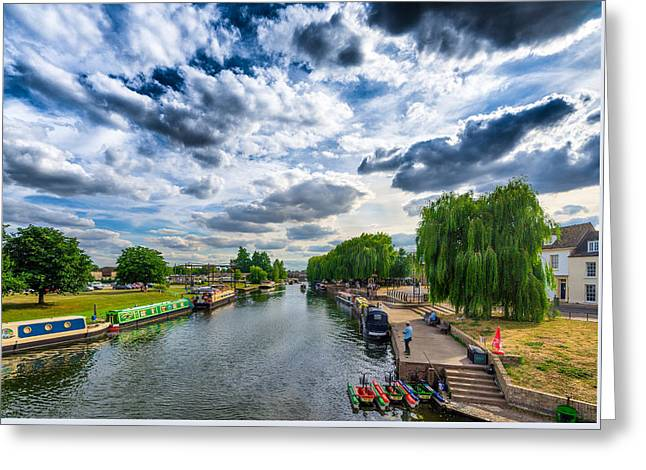Ely Riverside Greeting Card