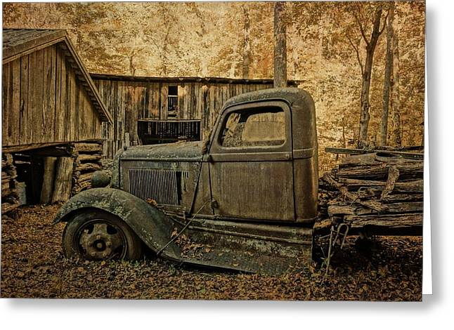 Ely's Mill Dodge Greeting Card by Dan Sproul