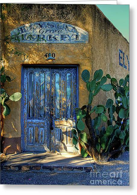 Elysian Grove In The Morning Greeting Card by Lois Bryan