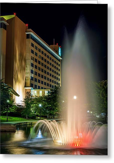 Embassy Suites Huntsville Greeting Card by David Morefield