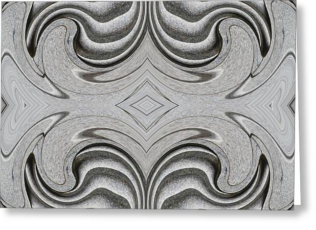 Embellishment In Concrete  4 Greeting Card