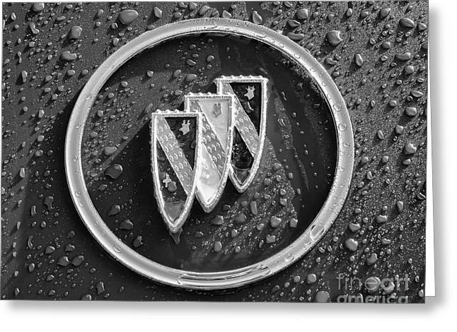 Greeting Card featuring the photograph Emblem Mono by Dennis Hedberg