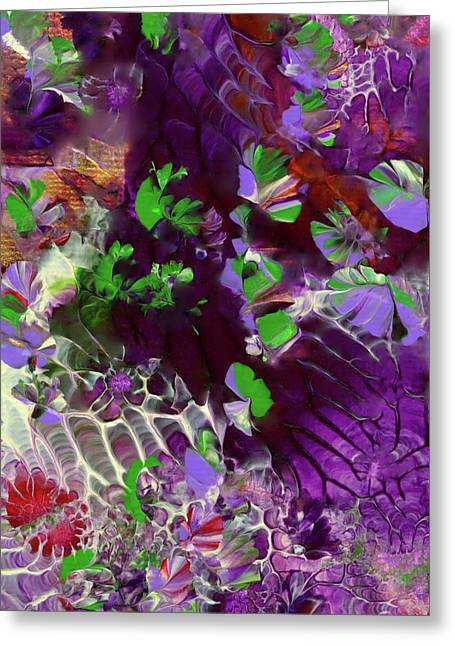 Emerald Butterflies Of Costa Rica Greeting Card