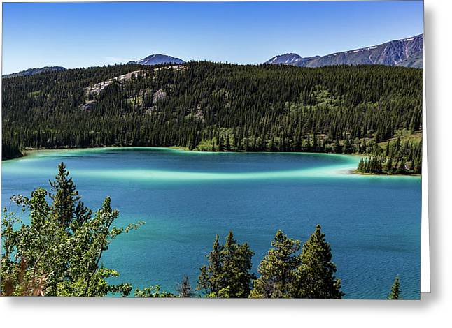 Emerald Lake 2 Greeting Card