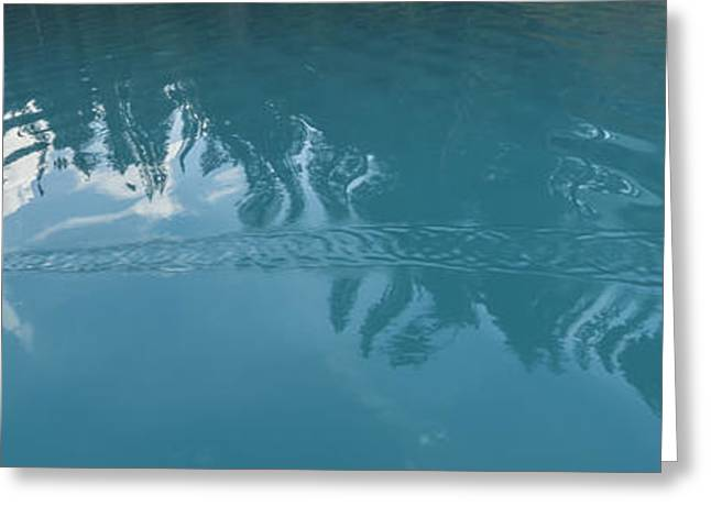 Emerald Lake Glacier Waters Greeting Card by Angela A Stanton