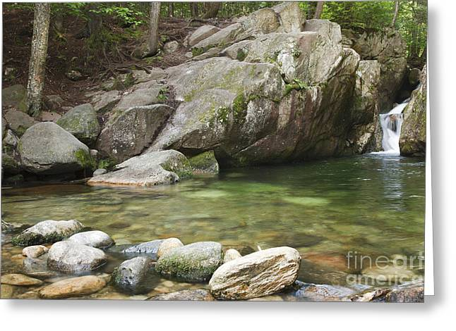 Emerald Pool - White Mountains New Hampshire Usa Greeting Card