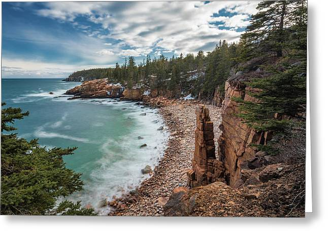 Emerald Shores At Monument Cove Greeting Card