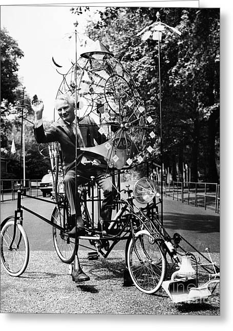Emett: Lunacycle, 1970 Greeting Card