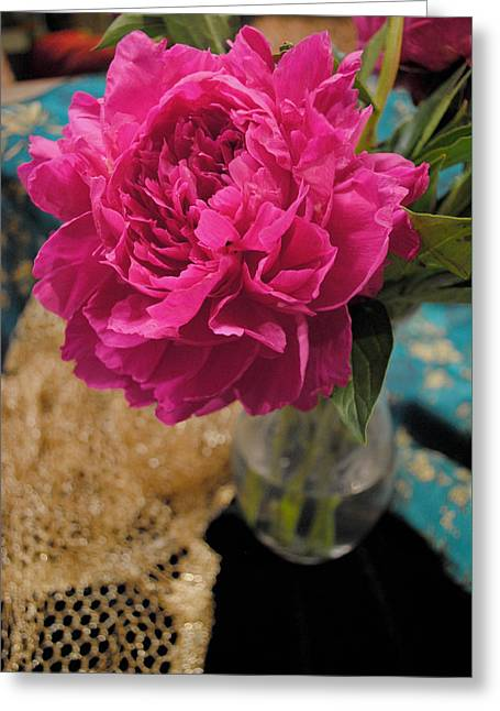 Emily's Peonies  Greeting Card