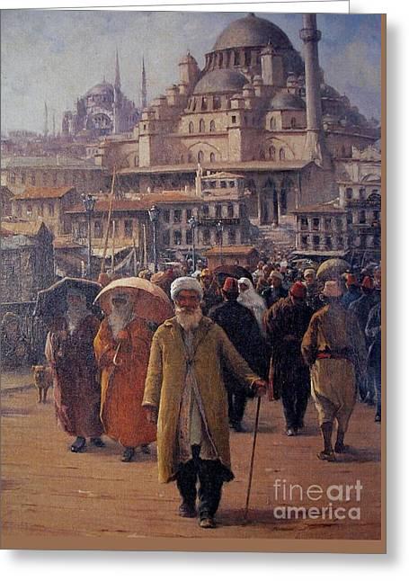 Eminonu Istanbul Greeting Card
