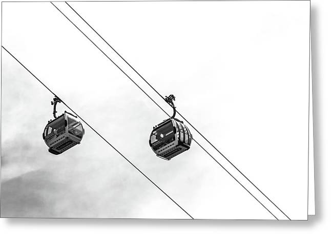 Emirates Airline Greeting Card by Martin Newman