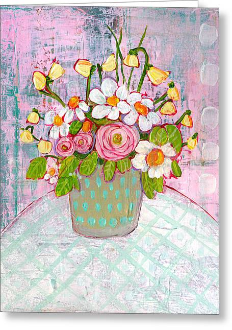 Emma Daisy Bouquet Greeting Card