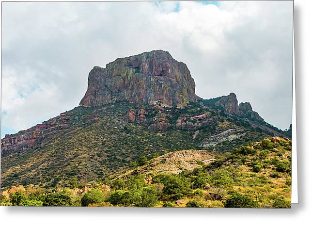 Emory Peak Chisos Mountains Greeting Card